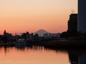 2017年1月1日の富士山の画像