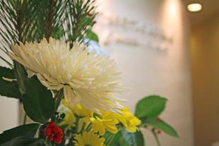 2019年大手町デンタルクリニックお正月の生花
