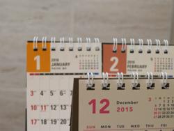 来年のカレンダーが必要な理由