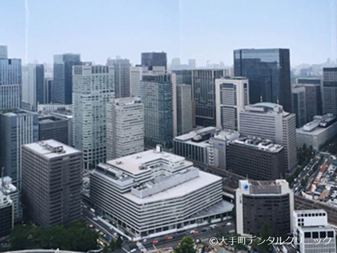 日本ビルの全貌の写真