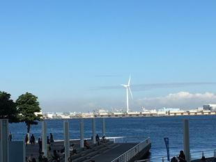 パシフィコ横浜から見た風景